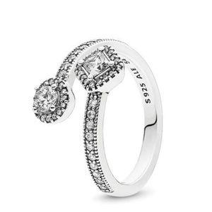 Abstract Radiance Pandora Ring